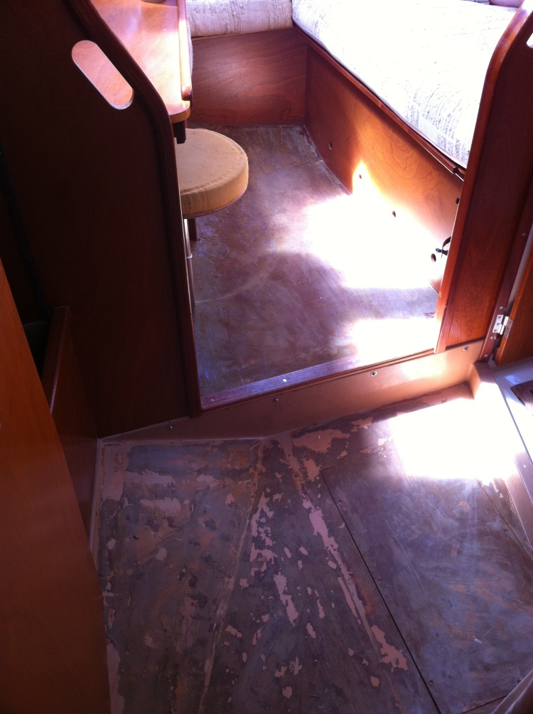 Aft Stateroom - All Flooring needing Loncoin - Cerulean