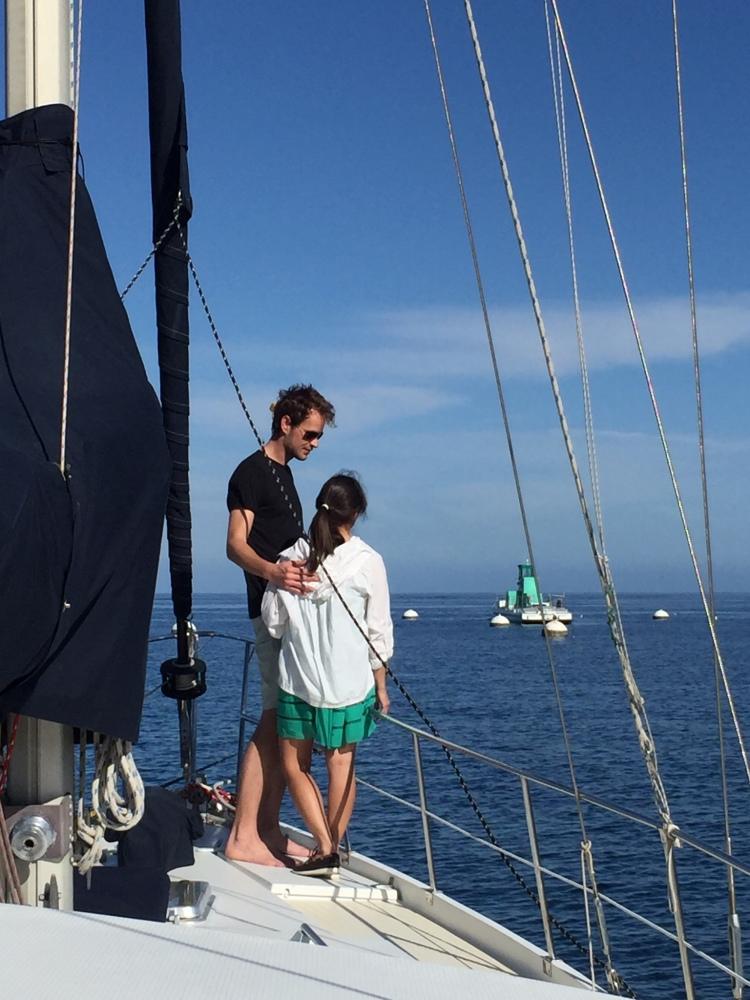 Alone on deck with My Love - Mimi Sadoshima