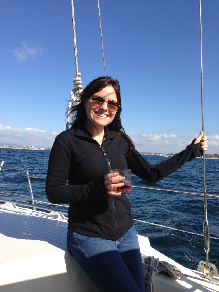 Stacey Fuller - Sail Boat Queen ;)