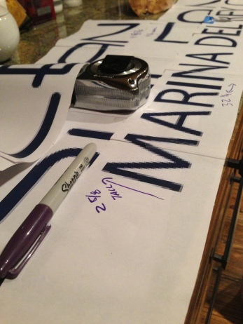 Cutting and Measuring the Logo & Decal Size